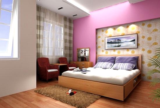 Phòng ngủ hấp dẫn hơn nhờ bộ chăn ga gối đệm